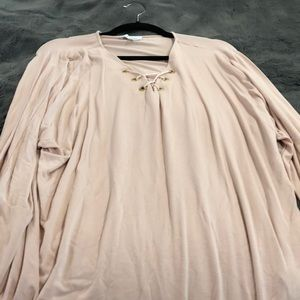 lovely dusty pink blouse